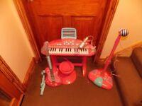 ELC Kids Keyboard + Stool, Guitar and Sing Along Mic