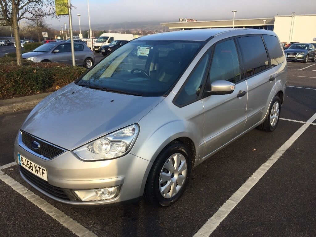 2008 FORD GALAXY EDGE TDCI 100 / LONG MOT / PX WELCOME / LEATHER / FINANCE AVAILABLE / WE DELIVER