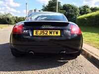 Audi TT 1.8 T Quattro 4 wheel drive, 225bhp, CAMBELT done, MOT May 2017, Good condition inside & out