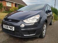 2008 FORD S MAX 1.8 TDCI 7 SEATER