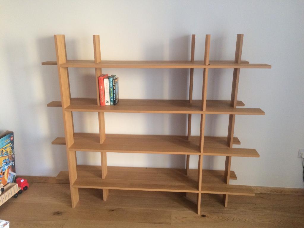 Rvs Wandplank Ikea.Ikea Ps Nybygge Shelving Bookcase Bookshelf Room Divider In