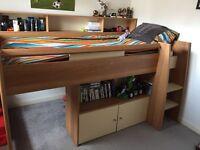 Single mid sleeper cabin bed