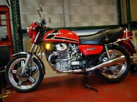 Honda CX500 A 1980 low mileage stunning example possibly the best original around
