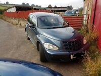 Chrysler PT Cruiser 2.0lt petrol. New MOT. Tow hitch and CD changer.