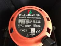 PHOTON BEAM 800 CAMERA LIGHT WITH CASE, SPARE BULBS AND STAND