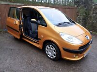 2006 PEUGEOT 1007 IDEAL SMALL FAMILY CAR CHEAP ON FUEL TAX AND INSURANCE BEING A 1.4