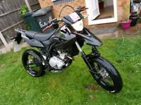 Yamaha Wr125x with extras