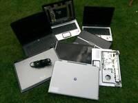 Spares or repair laptops