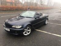 BMW CONVERTIBLE 2004 ...330 AUTO.. FULL 12 MONTHS MOT...STUNNING
