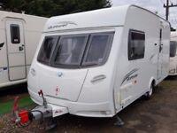 2010 Lunar Quasar 462 2 Berth End Washroom Caravan with MOTOR MOVER