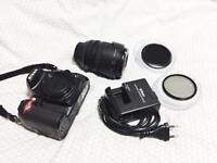 Nikon D7000 with 18-105mm f/3.5-5.6G kit lens