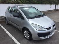 2007 MITSUBISHI COLT CZI 1.2 LONG MOT APRIL 2019, ONLY 60,000 MILES, SAME AS CLIO, CORSA, POLO