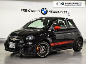 2015 Fiat 500 Navigation, Beats Stereo, Red Leather