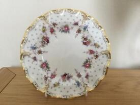 Royal crown derby Antoinette fluted edge plate plate