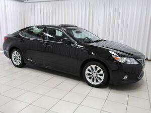 2013 Lexus ES 300 WOW!!! RARE HYBRID LEXUS ES!!! 300h HYBRID SED
