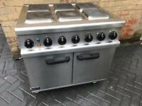 Commercial 3phase range cooker