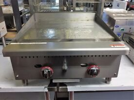 Gas Griddle 2 burner En 260 Catering equipment