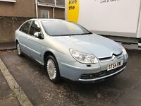 CITROEN C5 2.2 DIESEL EXCLUSIVE AUTO **LEATHER** **1 YEAR MOT* **LOW MILEAGE**