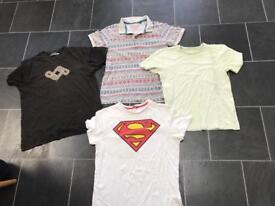4 x men's T-shirts