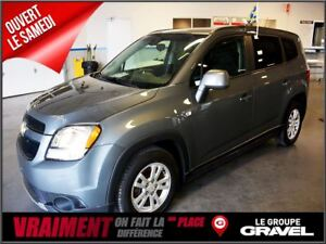 2012 Chevrolet Orlando LT 7 PASSAGERS MAGS BLUETHOOTH