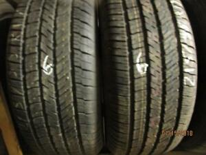 215/55R17 2 ONLY USED GOODYEAR ALL SEASON TIRES
