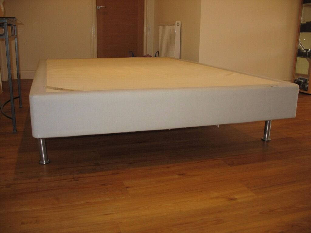 ikea sultan sprung double bed base in claygate surrey gumtree