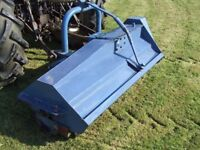 twose flail mower 3 point link tractor