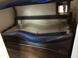 Ergoline adventgarde turbo power 600 blue sunbed