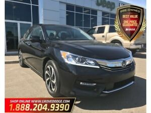 2016 Honda Accord Sedan EX-L| Leather| Low KM| Sunroof| Remote S