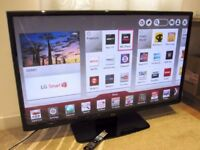 LG 42 Smart Built-in WiFi and Freeview HD Full HD LED TV
