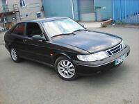 1996 LHD Saab 900 Coupe 2.0 Petrol,On Spanish plates, New Mot!