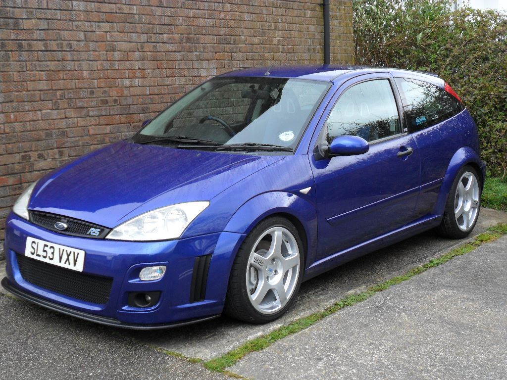 ford focus rs 2003 53 full service history in truro cornwall gumtree. Black Bedroom Furniture Sets. Home Design Ideas