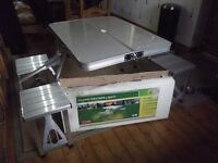Camping Metal Fold Away Picnic Table