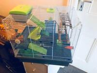 Hamster cage 3 floors + Free delivery