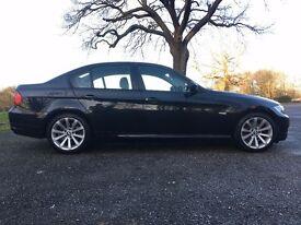 2010 BMW 318D SE BLACK 1 OWNER LOW MILES