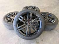 "17"" Genuine VW Caddy Sportline Alloy Wheels & Tyres 5X112 VW AUDI"