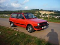 Volkswagen Polo MK2 1 litre C Breadvan (1985) Full Service History, 27 VW stamps, 1 Owner From New.