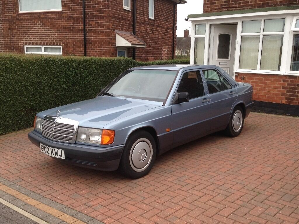 1989 mercedes 190e 2 5d diesel manual rare in aspley nottinghamshire gumtree. Black Bedroom Furniture Sets. Home Design Ideas