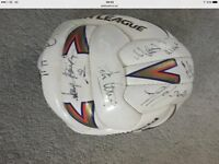 Signed 1995 Sheffield Wednesday football TODAY COLLECT