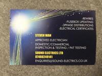 Sound Electrics LTD Approved electrician Glasgow