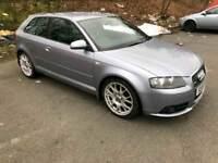 Audi A3, 2.0tdi, S-Line, Half leather, Diesel, 80k, NOV MOT
