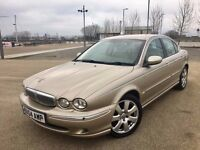 2004 JAGUAR X TYPE DIESEL ++ ALLOYS ++ LEATHER ++ SAT NAVIGATION ++ JULY MOT.