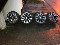 "Vw/Audi 20"" alloys"