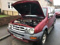 Ford maverick Nissan terano spare parts available