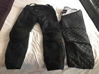 RST waterproof motorcycle trousers