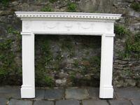 Wooden Mantel (Fireplace Surround)