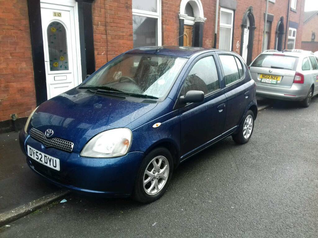 Toyota Yaris 1.3 petrol Full Automatic Long mot Cheap to run and insurance