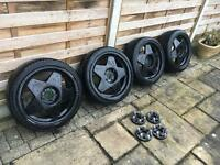 Borbets A 17inch with tyres