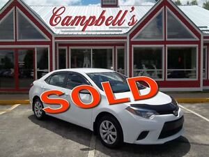 2014 Toyota Corolla LE YES AUTOMATIC!! AIR!! CRUISE!! POWER WIND