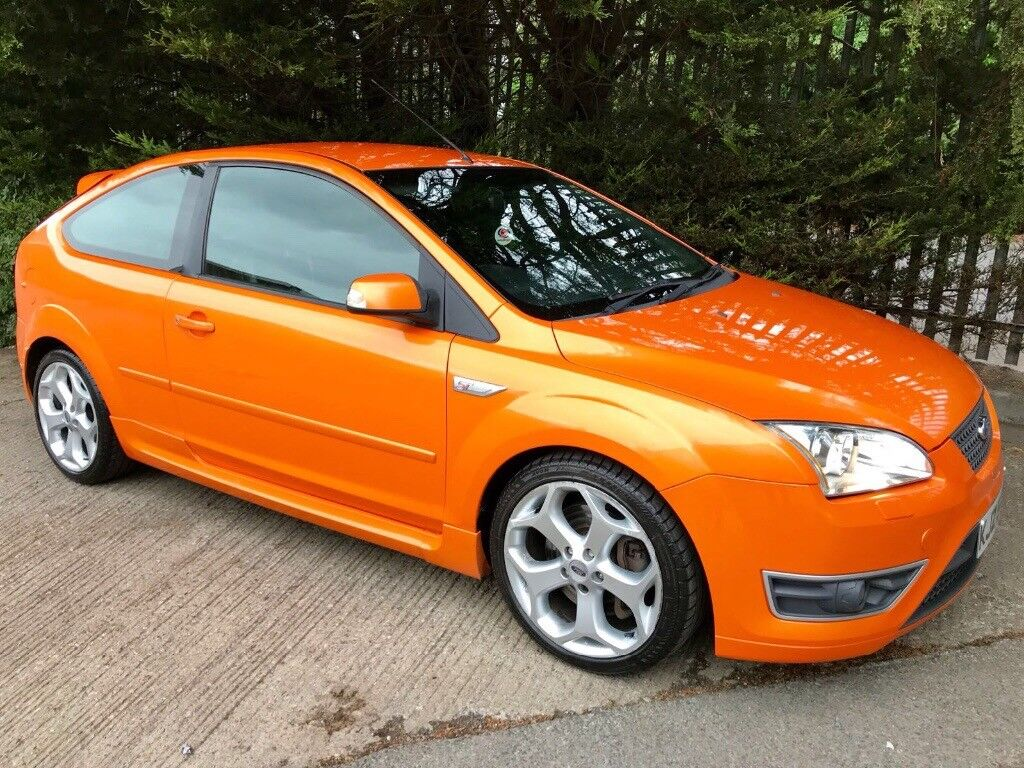 2006 Ford Focus St 3 Electric Orange Xenons Black Heated